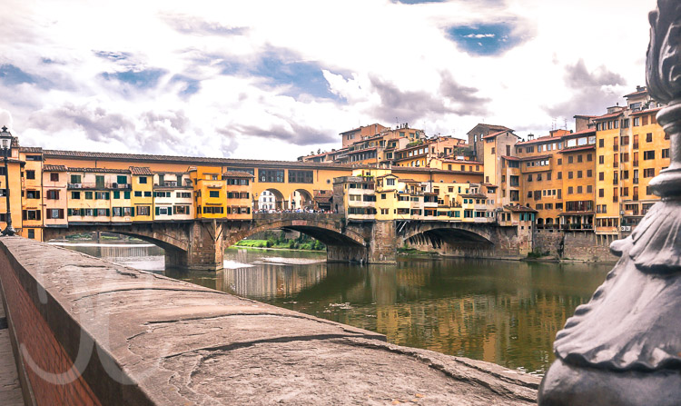 Neujahr in Pisa und Florenz im März