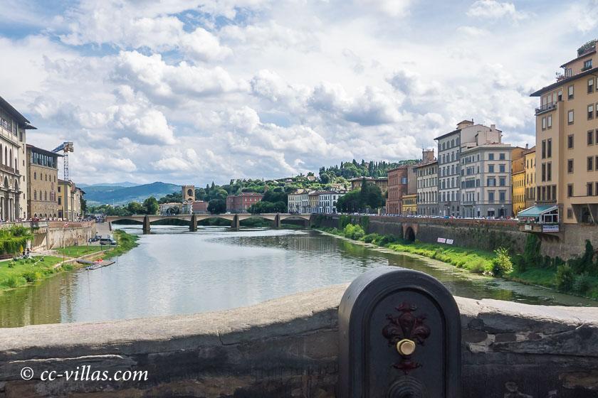Brücken Florenz - Von der Ponte Vecchio zur Ponte alle Grazie und zum Aussichtshügel der Piazzale Michelangelo