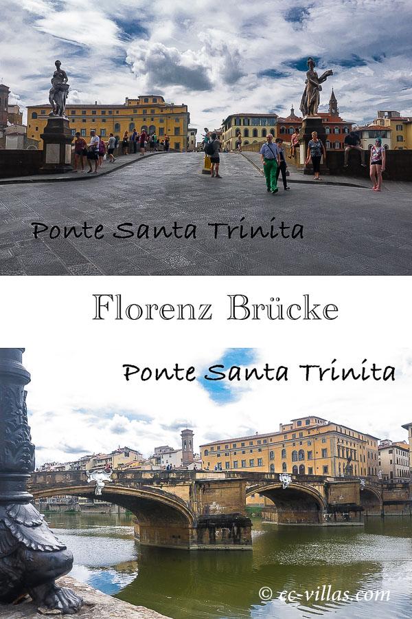 Florenz Brücken - Ponte Santa Trinità