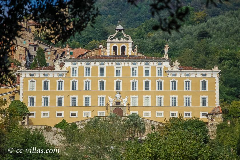 Lügen des Pinocchio - Villa Garzoni