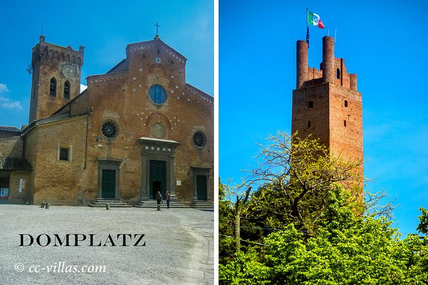 San Miniato Dom und Torre Federico II