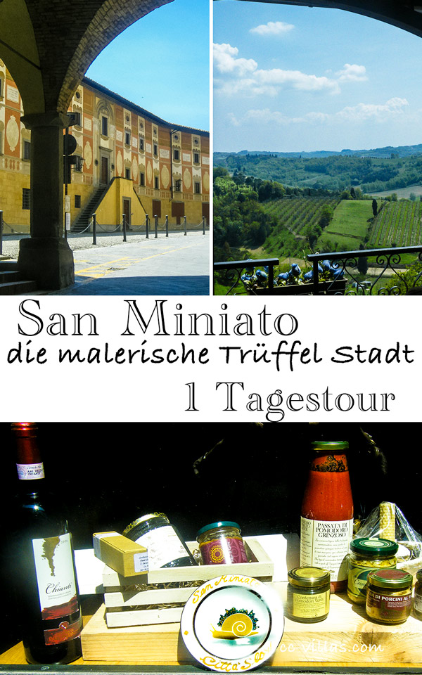 San Miniato  Citta-Slow Produkt, Stadt und Land