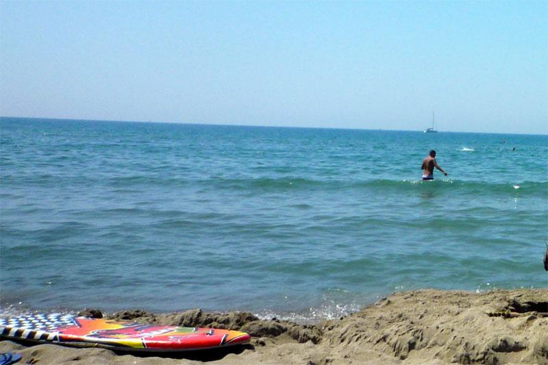 Meer bei Lucca und Pisa - Sand Strand