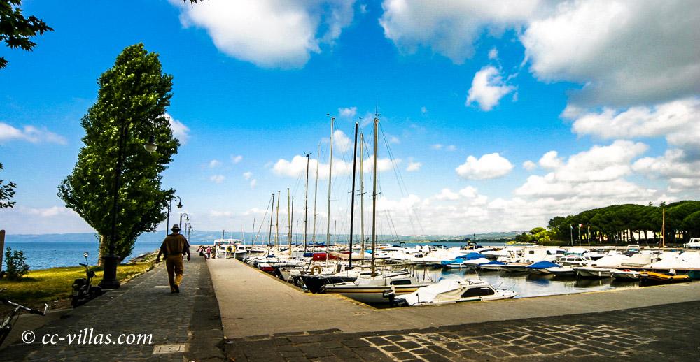 Bolsena Lago - der Yachthafen