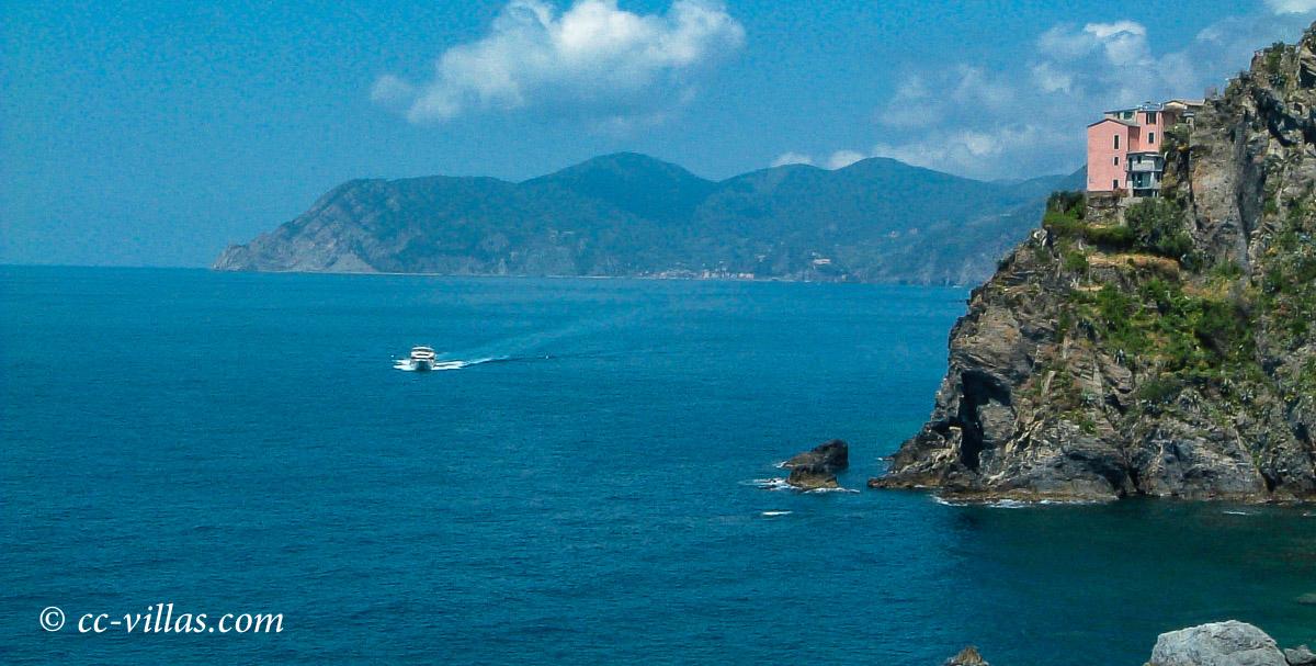 Cinque-Terre Ligurien - von Manarola bis zur Bucht von Monterosso