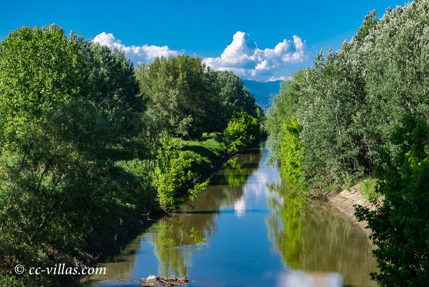 Bottaccio Naturschutzpark - das Fleet
