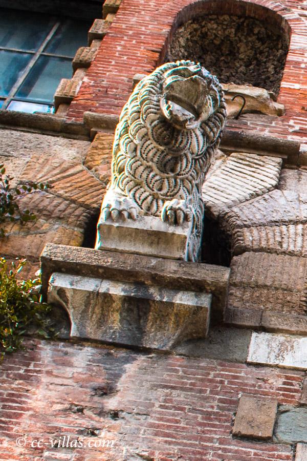Lucca Toskana - der Löwe von Lucca