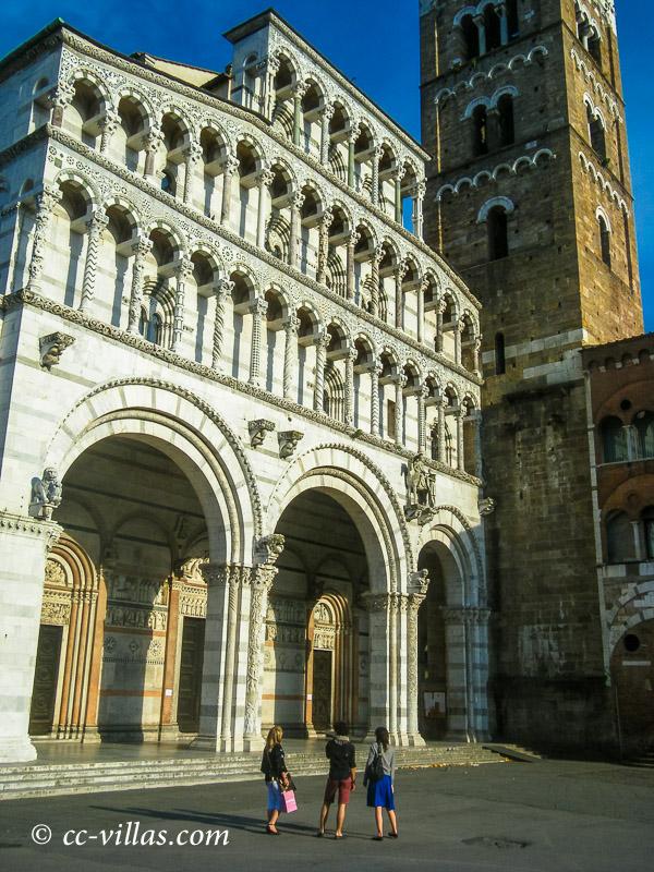 Lucca Toskana - die Kathedrale San Martino