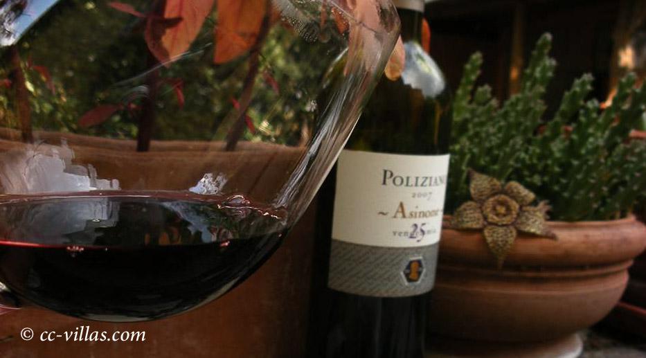 Montepulciano - Wein