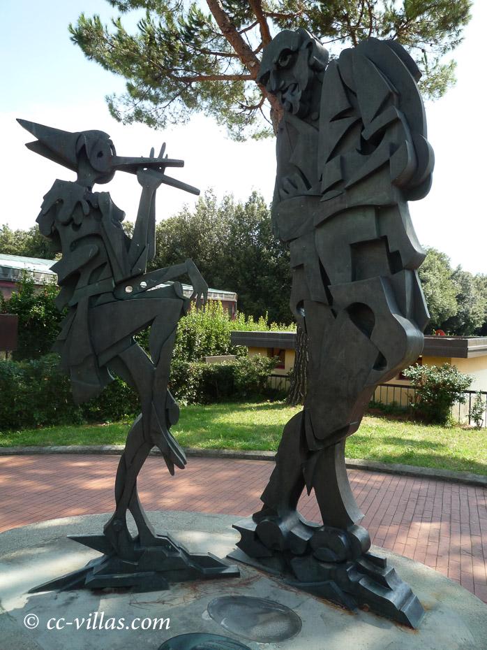 Pinocchio Park Collodi - Pinocchio und Meister Gepetto
