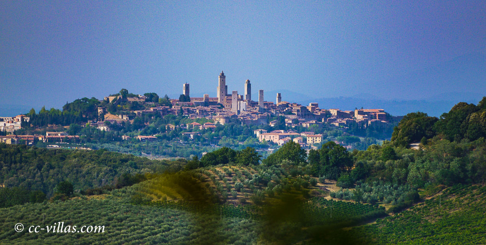 San Gimignano has been restored following strictly the original outlook