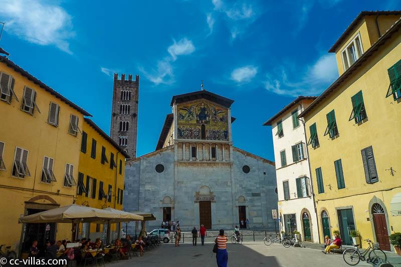 Lucca Sehenswürdigkeiten - Kirche San Frediano