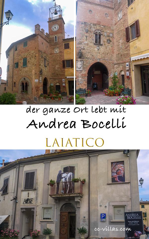 Teatro del Silenzio - Laiatico ein Ort in Pisa, der mit Andrea Bonelli lebt