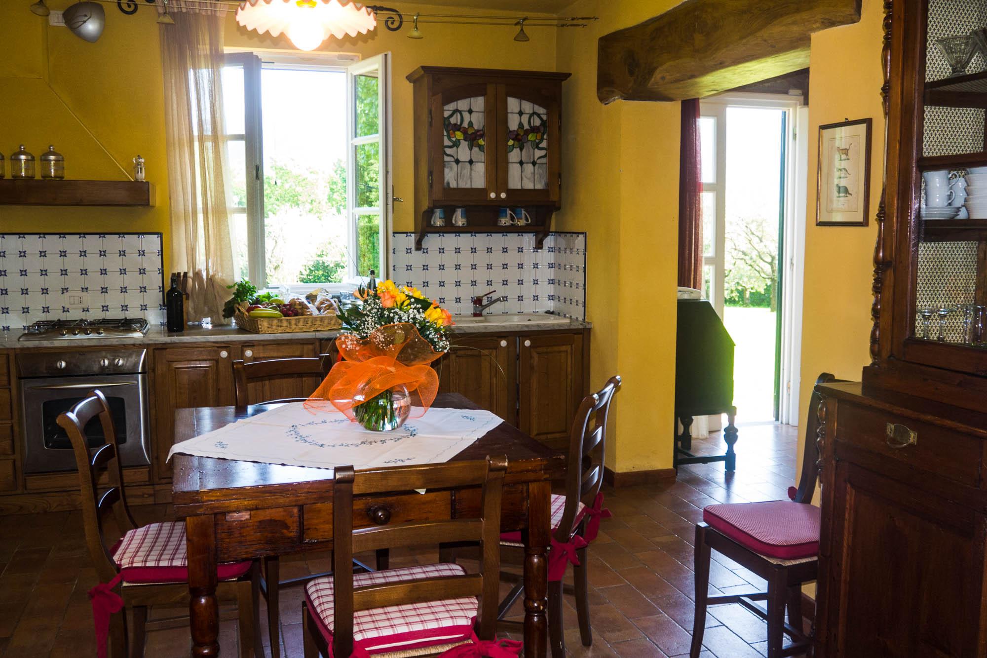 ... Kleines Ferienhaus Toskana   Treppe In Das Obergeschoss ...