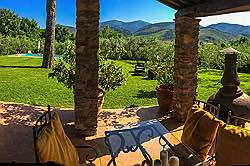 Small Tuscany Cottage with private pool - dawn