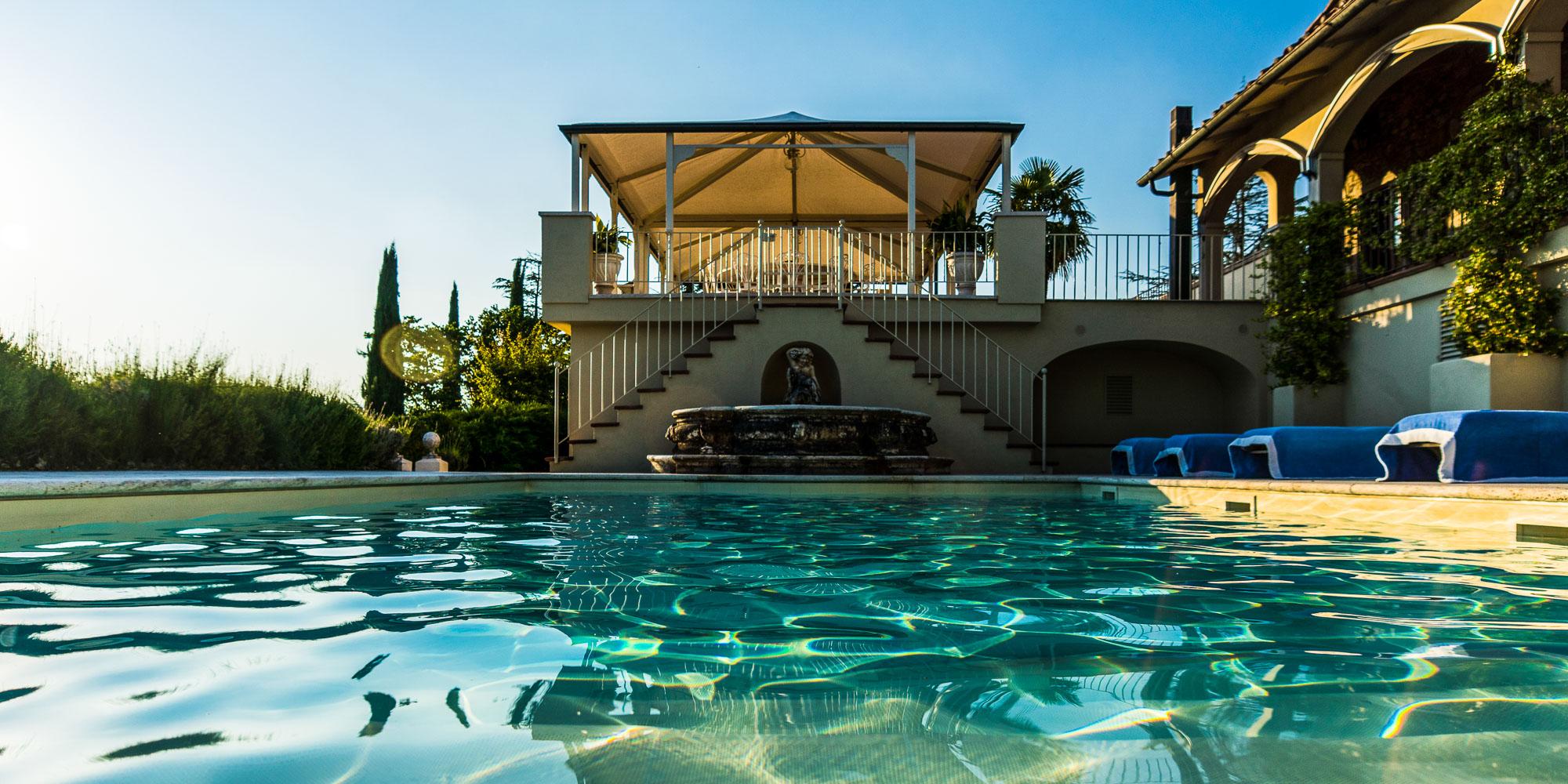 Villa Auf Weingut Im Chianti Mit Tennisplatz Selva