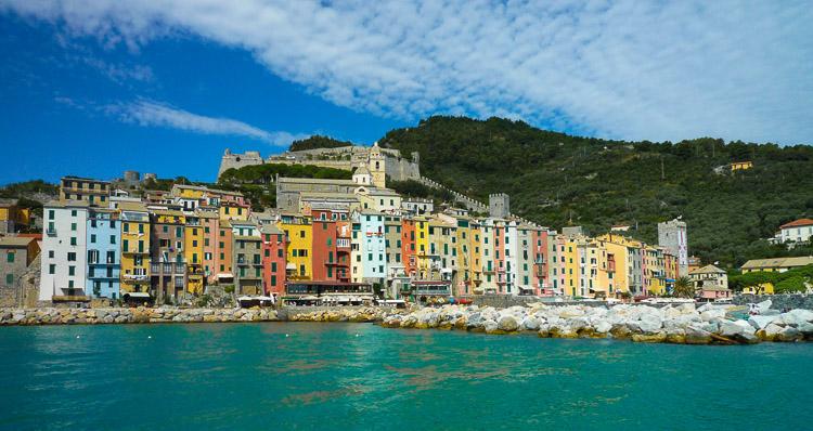 Portovenere, malerische Stadt am Ende des Golfes von Las Spezia