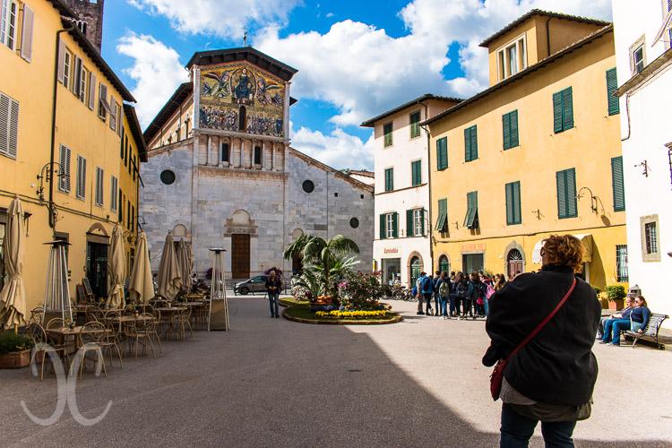 Basilika San Frediano - Blick auf das Mosaik