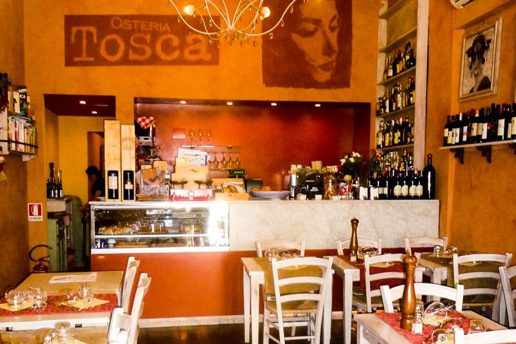 Restaurant Tosca in Lucca