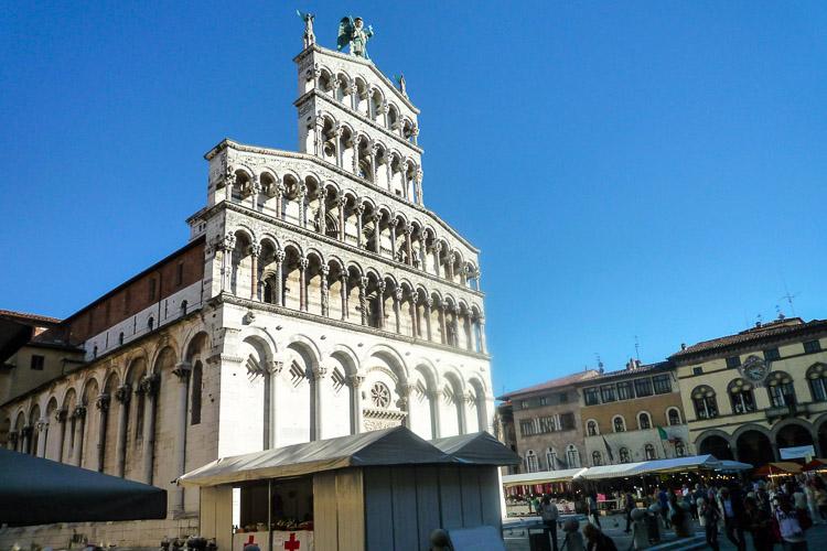 San Michele im Zentrum, auf dem römischen Forum