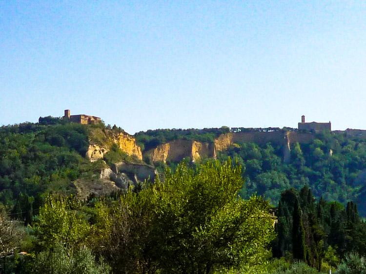 Balze - Volterra und seine bizarre Landschaf