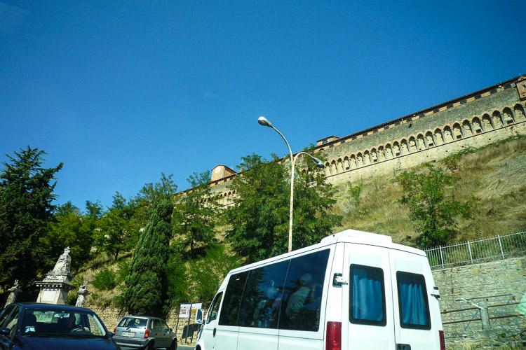 Fortezza Medicea, das Gefängnis